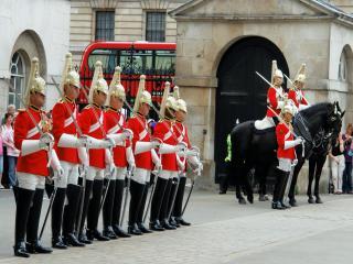 обои Английские солдаты фото
