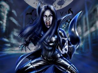 обои Вампирша и её дети фото
