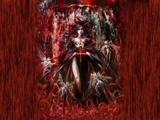 обои Вампирша и маленькие демоны фото