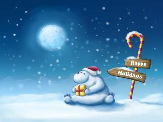 обои Happy holidays фото