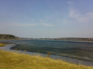 обои Уводьское водохранилище фото
