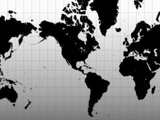 обои Widescreen Continents фото