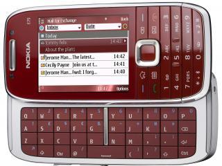 обои Nokia e75 с клавиатурой фото