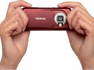 обои Nokia N73 Red White фото