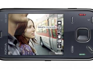 обои Nokia N86 8MP indigo фото