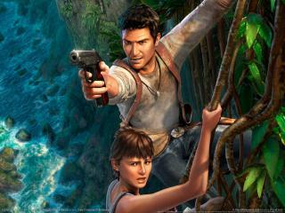 обои Uncharted: Drake фото