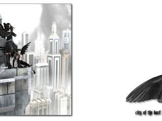 обои City of Dark Angel фото