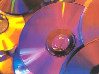 обои Разбросанные диски фото