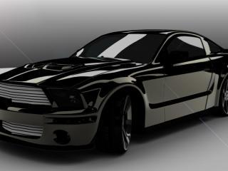 обои Mustang Cobra 3d фото