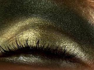обои Макияж глаза - Изумрудные тени фото