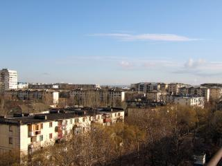 обои Город с высоты птичьего полета фото
