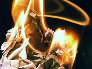 обои для рабочего стола: Огненные узоры