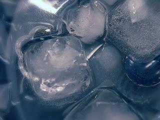 обои Лед и вода фото
