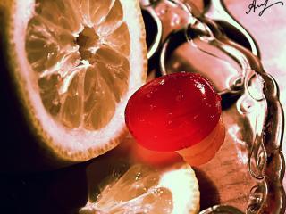 обои Лимон и леденец фото