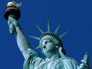 обои USA New York  NY The symbol of freedom фото