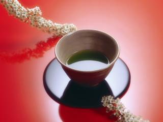 обои Японский зеленый чай фото