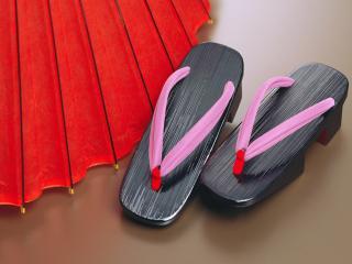 обои Японская обувь фото
