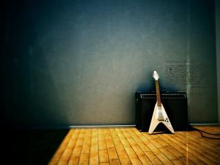 обои Электро гитара фото