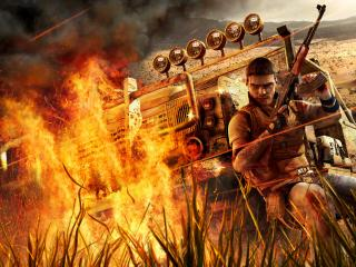обои Far Cry 2 under fire фото