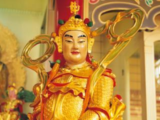 обои Статуя китайской женщины фото