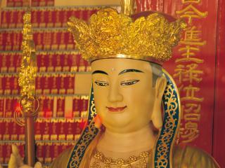 обои Лицо статуи китайской женщины фото
