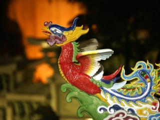 обои Китайская игрушка - птичка фото