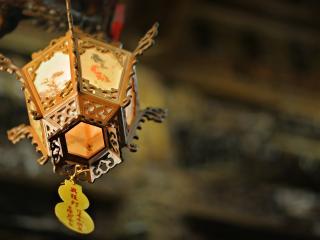 обои Китайская лампа фото