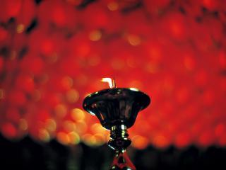 обои Китайская свеча фото