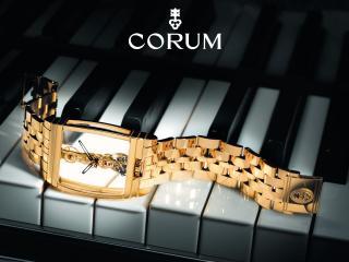 обои Стильные золотые наручные часы фото