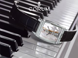 обои Стильные наручные часы, украшенные драгоценными камнями фото