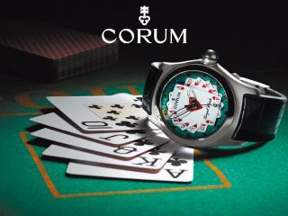 обои Наручные часы для любителей азартных игр фото