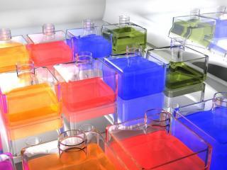 обои 3D  parfumeria фото