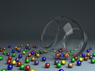 обои 3d object фото