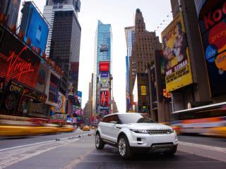 обои Land Rover в Нью Йорке фото