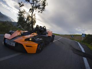 обои Необычный спорткар фото