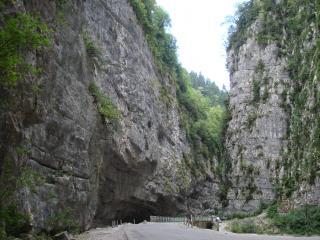 обои Абхазкое ущелье фото