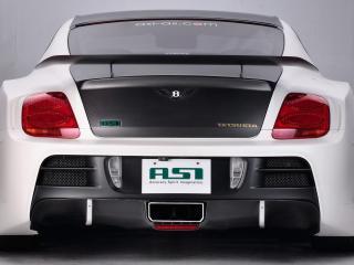 обои ASI Bentley Continental GT Tetsu GTR 2009 зад фото