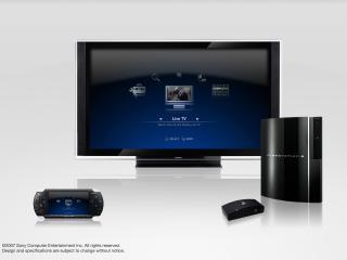 обои Телевизор, приставка, колонка марки Sony фото