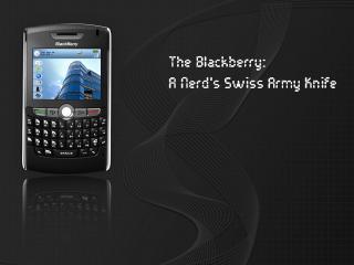 обои КПК BlackBerry фото