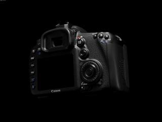 обои Профессиональный фотоаппарат Canon - вид сзади фото