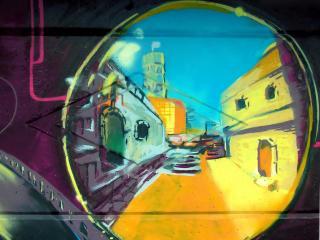 обои Граффити мир фото