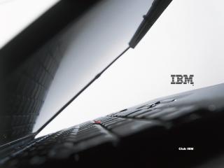 обои Computers Loptop IBM фото
