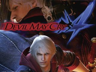 обои Devil mc dante фото