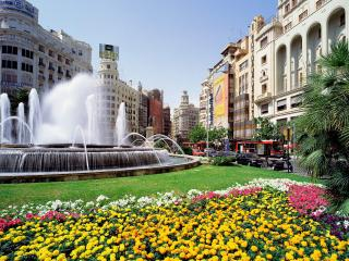 обои Испания. Валенсия, Plaza del Ayuntamiento фото