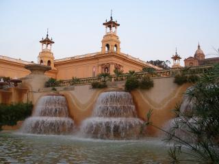 обои Испания. Поющий фонтан фото