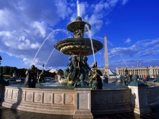 обои Невероятно красивый фонтан фото
