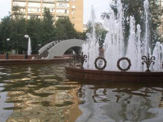 обои для рабочего стола: Фонтан в Москве