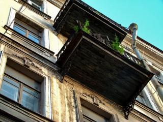 обои Старый балкон фото