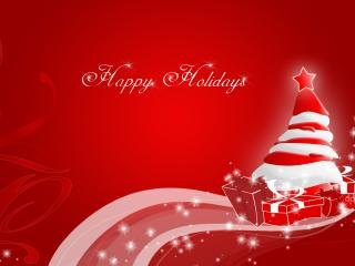обои Happy Holidays фото