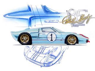 обои Shelby Commemorative GT40 фото